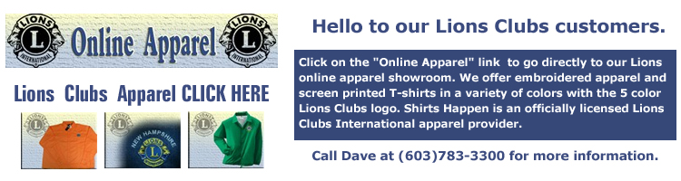Lions  Clubs  Apparel CLICK HERE