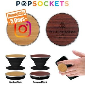 PopSockets� Wood PopGrip